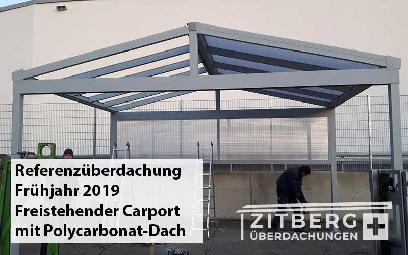 freistehender-Carport-Alu